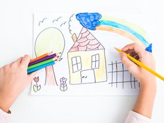 תמונת רקע למאמר ציור ילדים
